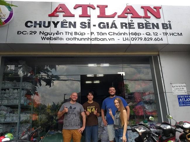 xưởng áo thun Altan