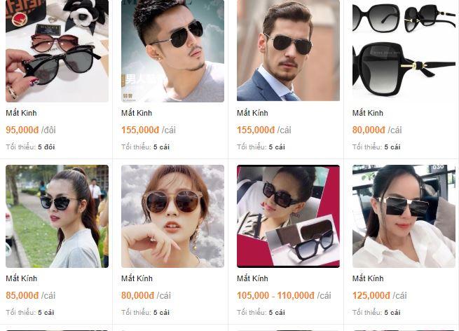 Xưởng bán mắt kính giá sỉ