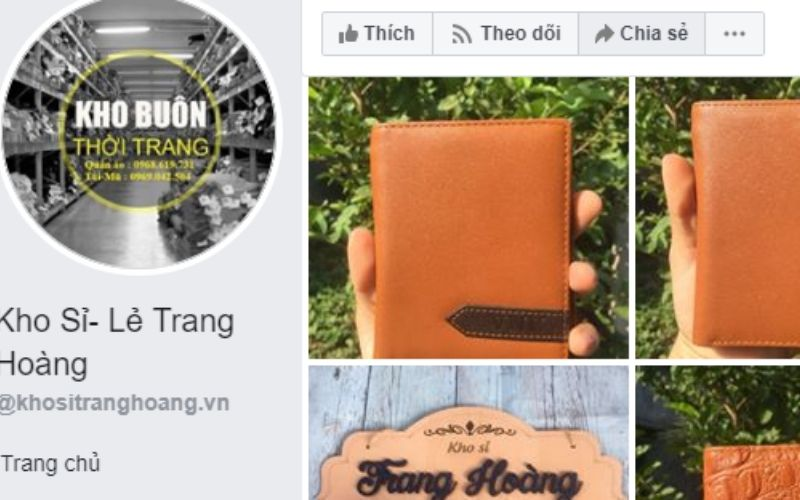 Ví nam Trang Hoàng