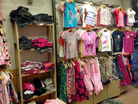 Kinh nghiệm sỉ quần áo trẻ em - địa điểm sỉ uy tín