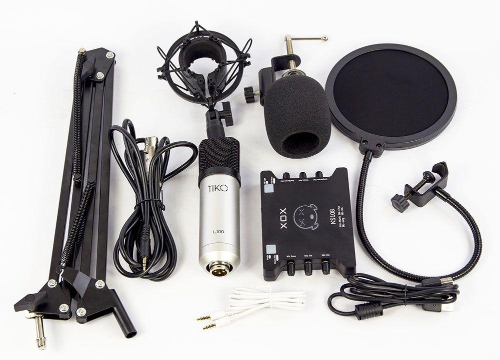 Trọn bộ thu âm tại nhà cần những thiết bị gì?