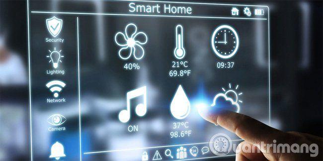 ưu điểm của smarthome ( nhà thông minh )