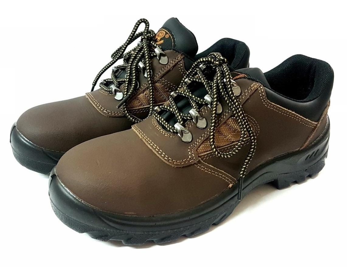 Giày bảo hộ cao cấp Xincaihong 89524- màu nâu - Công ty TNHH Hoàng Hải Minh