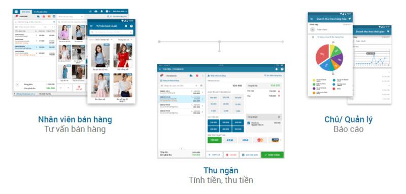 những phần mềm quản lý bán hàng - TrustSales