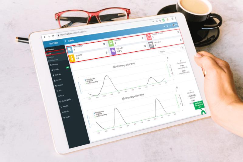 phần mềm bán hàng online miễn phí - TrustSales