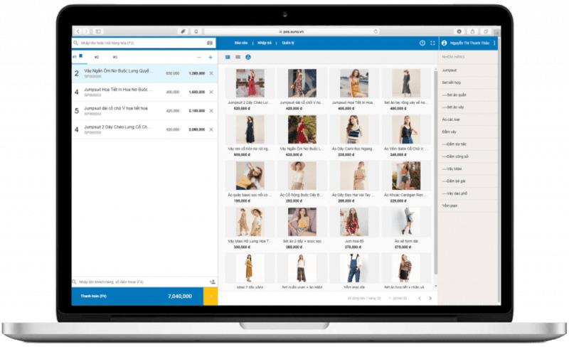 phần mềm quản lý bán hàng offline - TrustSales